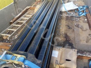 Отправка труб с наружной УС изоляции 3 сл. на Нефтегазовую компанию в Казахстан